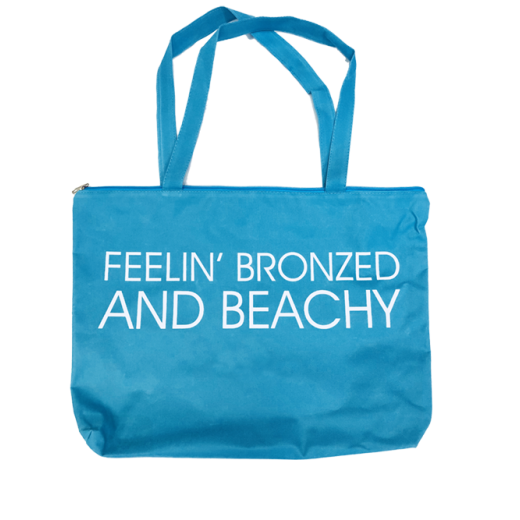 California Tan BRONZED & BEACHY bag BLUE