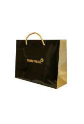 Tannymaxx Shopping BAG BLACK / GOLD