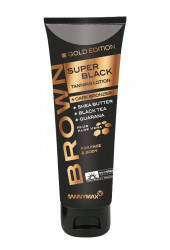 SUPER BLACK GOLD Edition Tanning + Dark Bronzer 125 ml