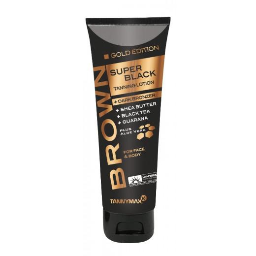 SUPER BLACK Gold Edition Tanning + Dark Bronzer