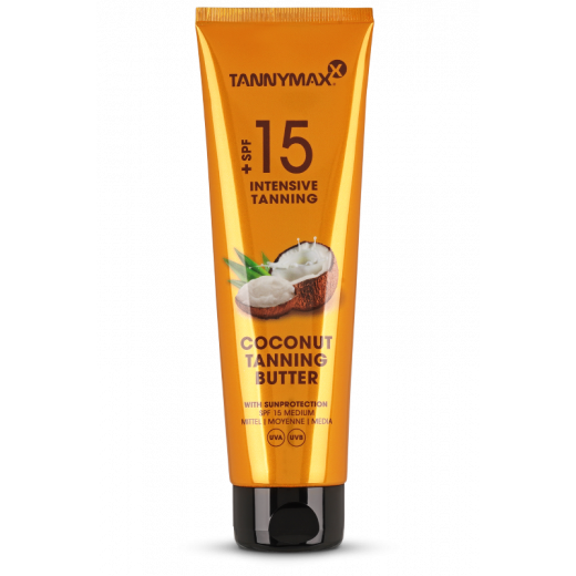 COCONUT Tanning Butter + SPF 15