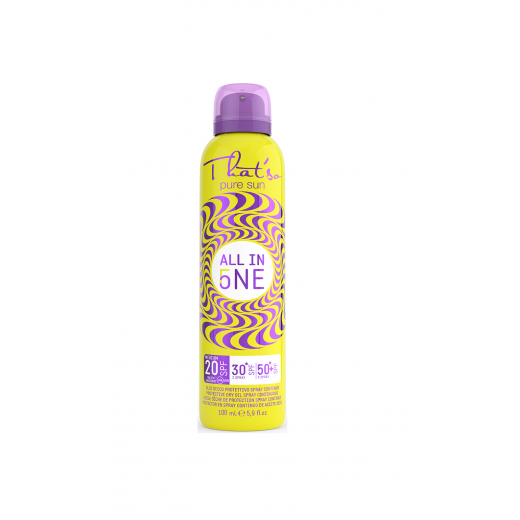 All in One Gradual Spray SPF 20/30/50 MINI 100 ml