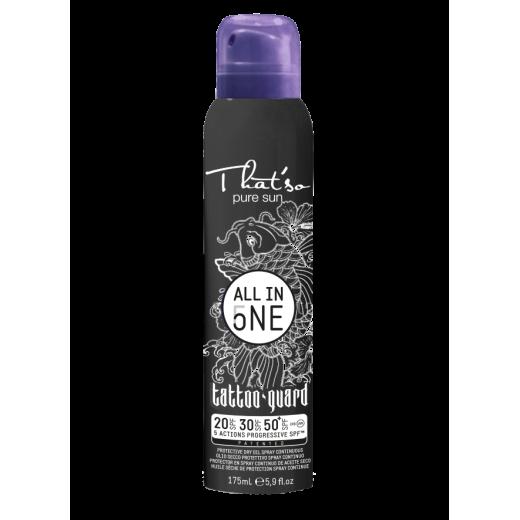 All in One TATTOO Gradual Spray SPF 20/30/50 175 ml