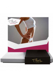 That'so PURE BODY Counter DISPLAY (36 x 22 x 34 cm)
