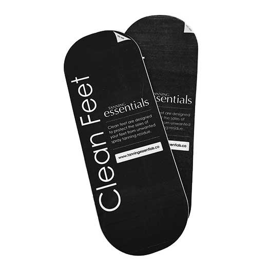 Tan Essentials Clean Feet FOAM ( 25 in 1 pack)