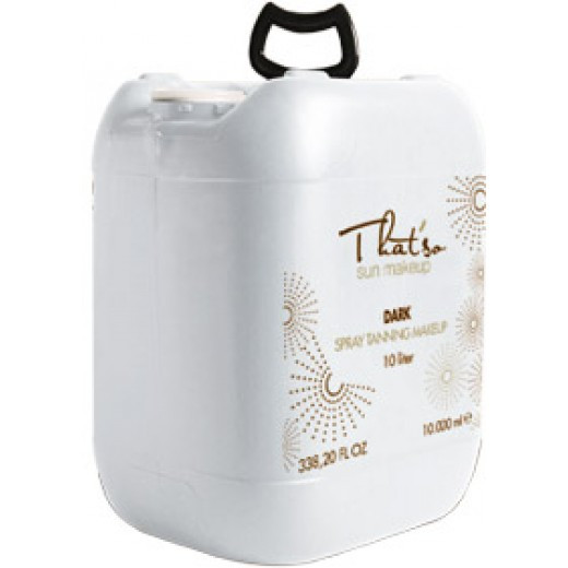 That'so Professional Spray Solution 14% DHA 10 Liter for Automatic Spray