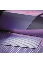 FLOOR MAT -  tapis du sol en plastique - 80 x 60 cm gris