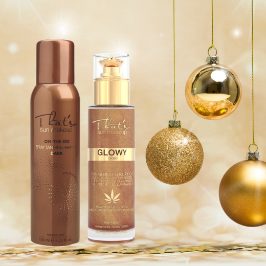 HOLIDAY GIFT That'so TAN & SHINE
