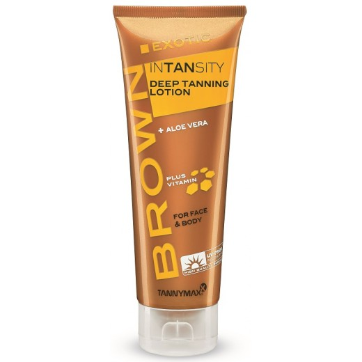 BROWN Exotic Intansity Tanning Lotion